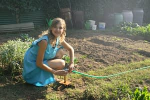 soil gardening planting
