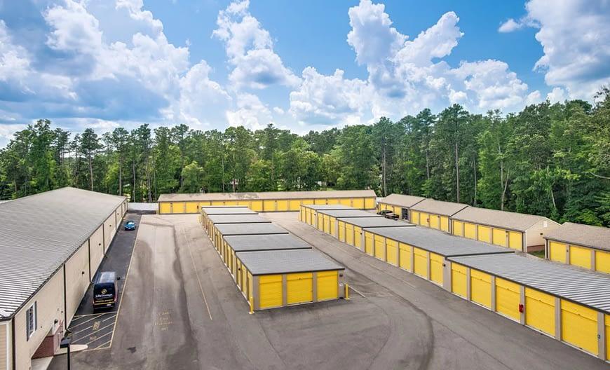 storage unit space